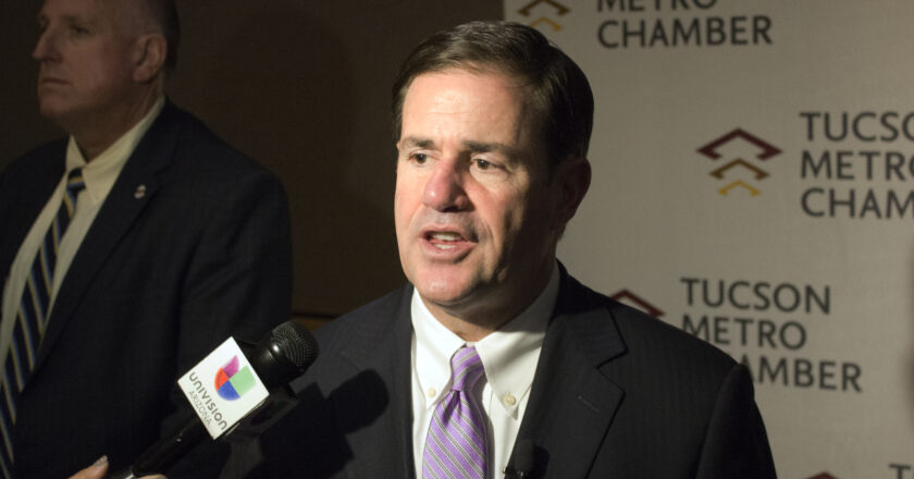 Ducey submits a water and flight plan