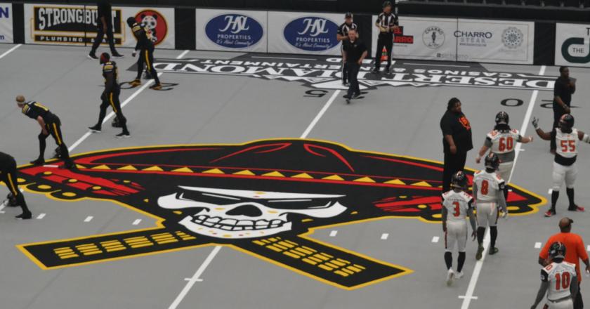 Sugar Skulls take on the town; Tucson's new indoor football team