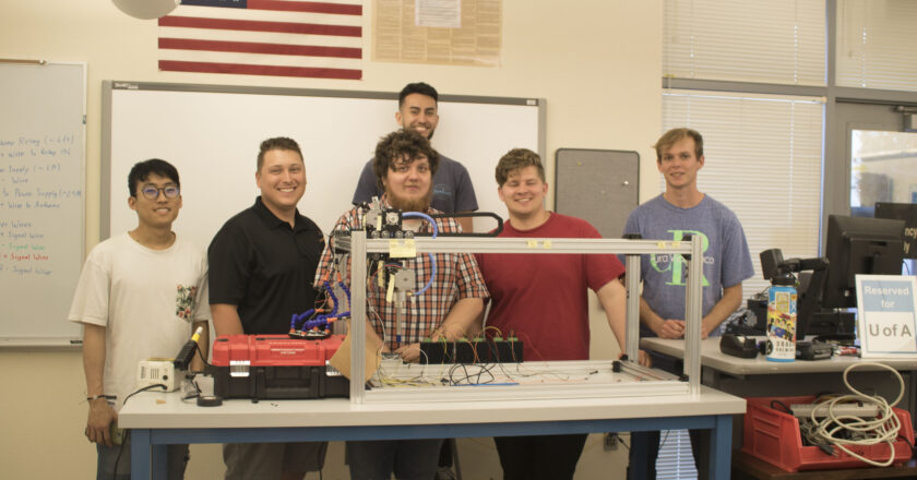 PCC holds space for Team 18029's weed-killing device