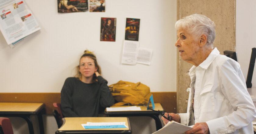 Veteran writing instructor was born to teach