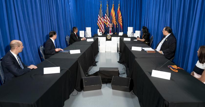 President Visit to Arizona Signals Reopening
