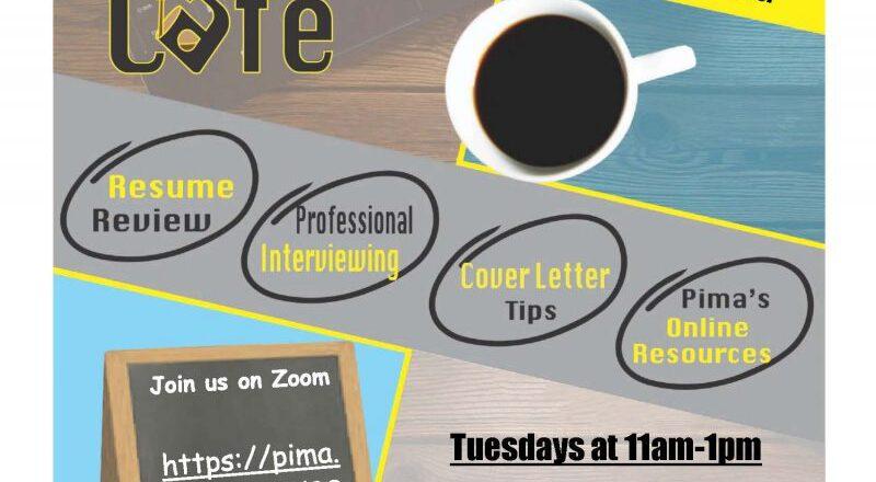 Pima to host virtual Career Café
