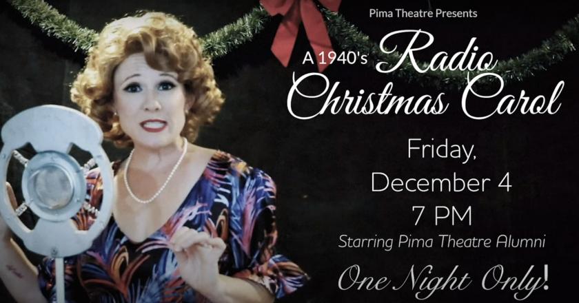 Pima Theater Presents: A 1940's Radio Christmas Carol