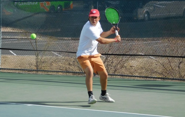 Aztecs Men's Tennis Drops Close Match to Mesa CC to Open 2021 Season