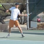 Mason Lee Wins Both Matches But Aztecs Men's Tennis Falls at Mesa CC