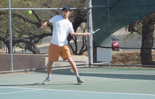 Mason Lee Wins Both Matches But Aztecs Men's Tennis Falls at Mesa CC