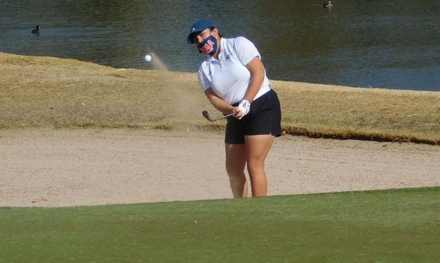 Aztecs Golfer Victoria Peña Earns Medalist Honors at ACCAC Invitational