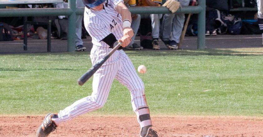 Aztecs Baseball Sweeps Phoenix College