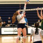 Aztecs Volleyball Drops Two Matches at Yavapai College