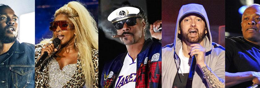 Dre, Snoop, Eminem, Blige, Lamar to perform at Super Bowl