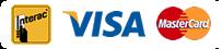 Interac VISA MasterCard