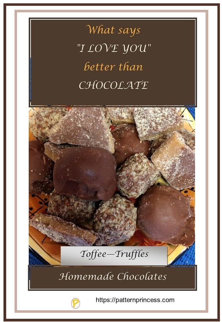 What says I love You better than chocolates 1