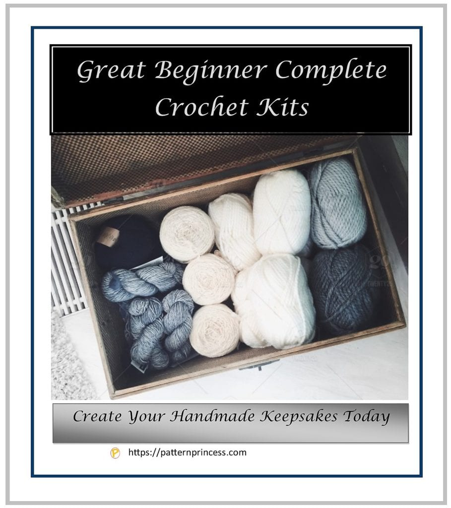 Great Beginner Complete Crochet Kits 1