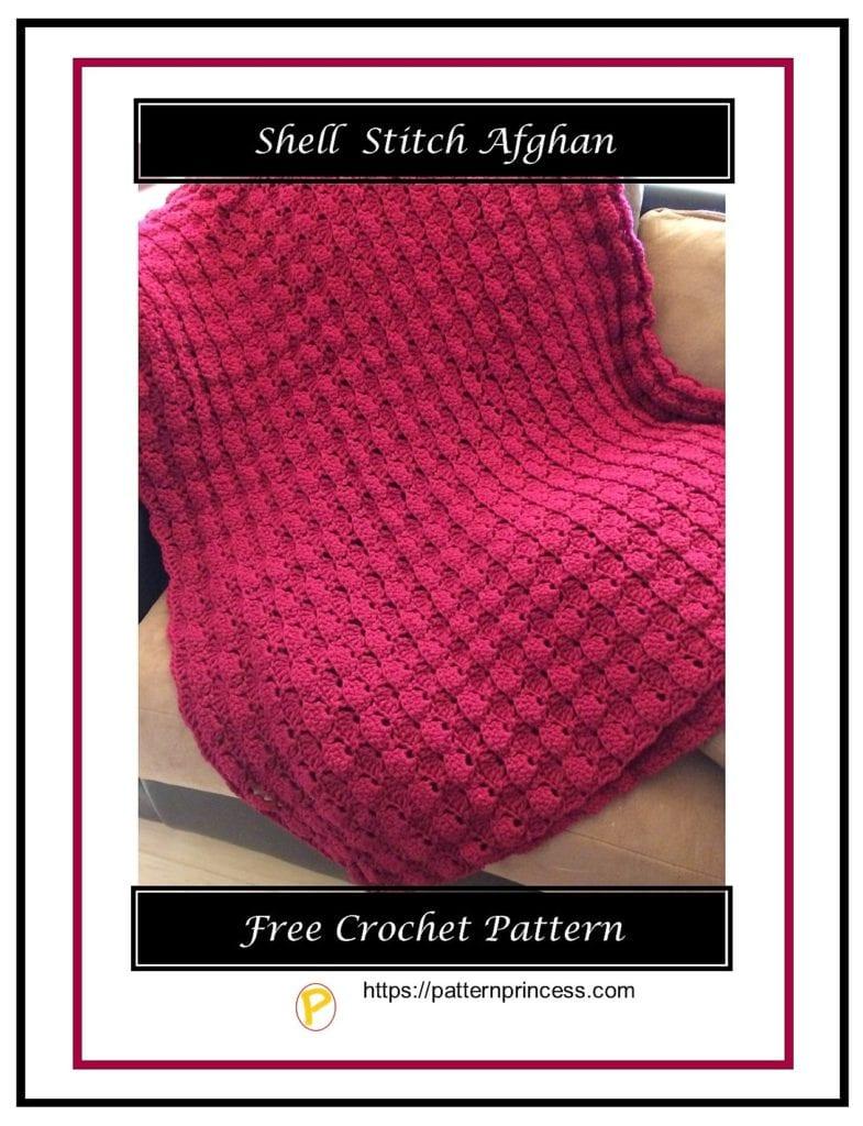 Shell Stitch Afghan 7