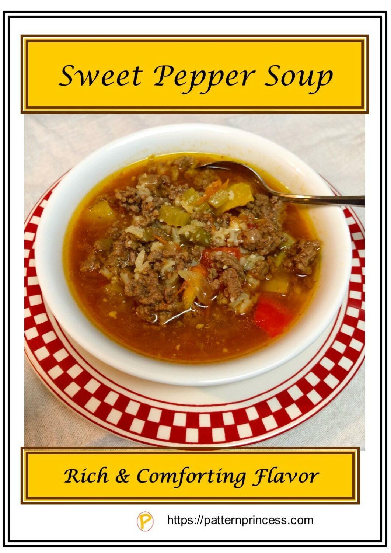 Sweet Pepper Soup 2