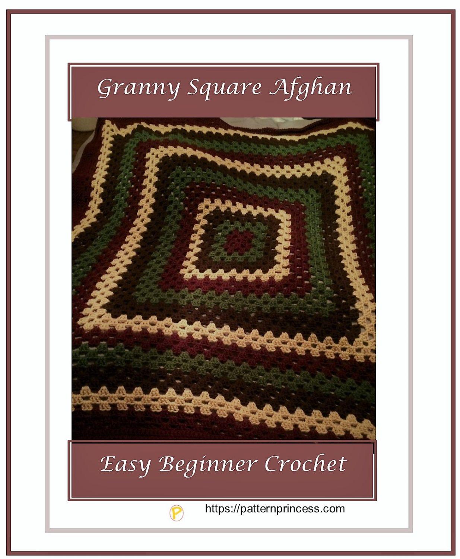Granny Square Afghan 1