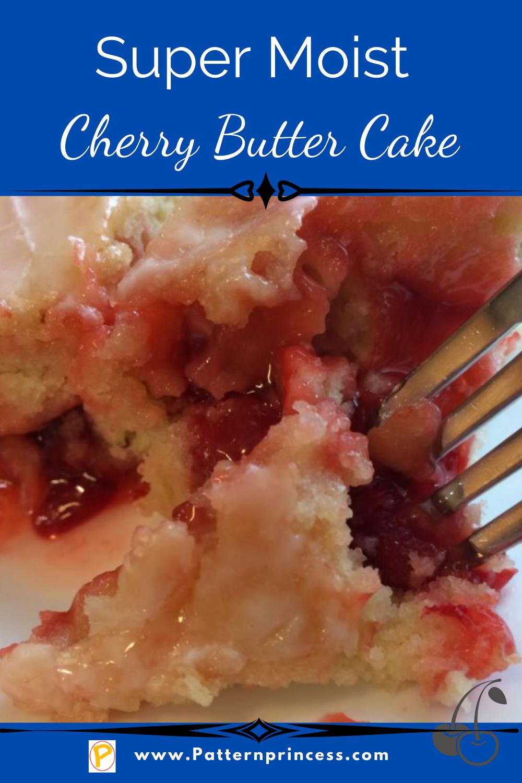 Super Moist Cherry Butter Cake