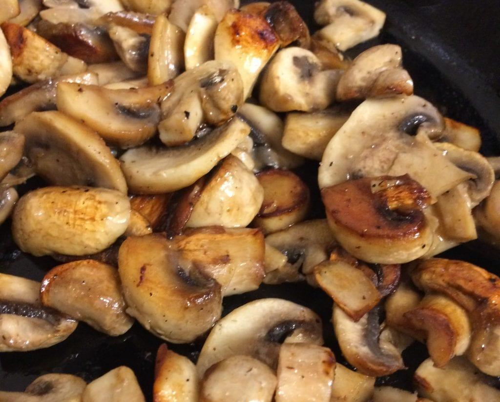 Fried Mushrooms Caramelized