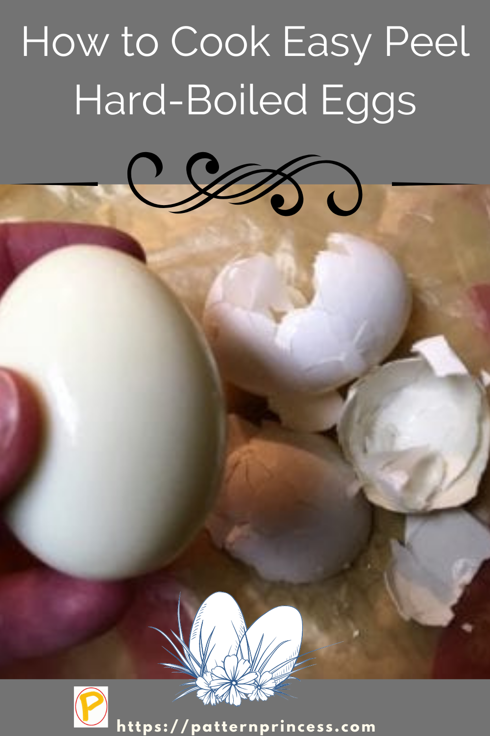 How to Cook Easy Peel Hard-Boiled Eggs