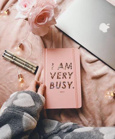 I am Busy Blogging