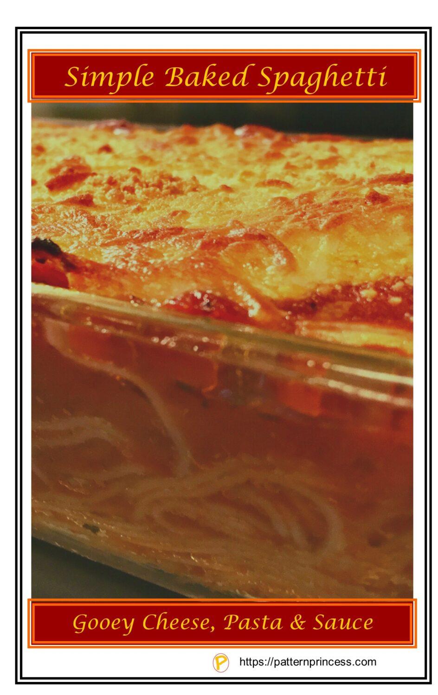 Simple Baked Spaghetti 2