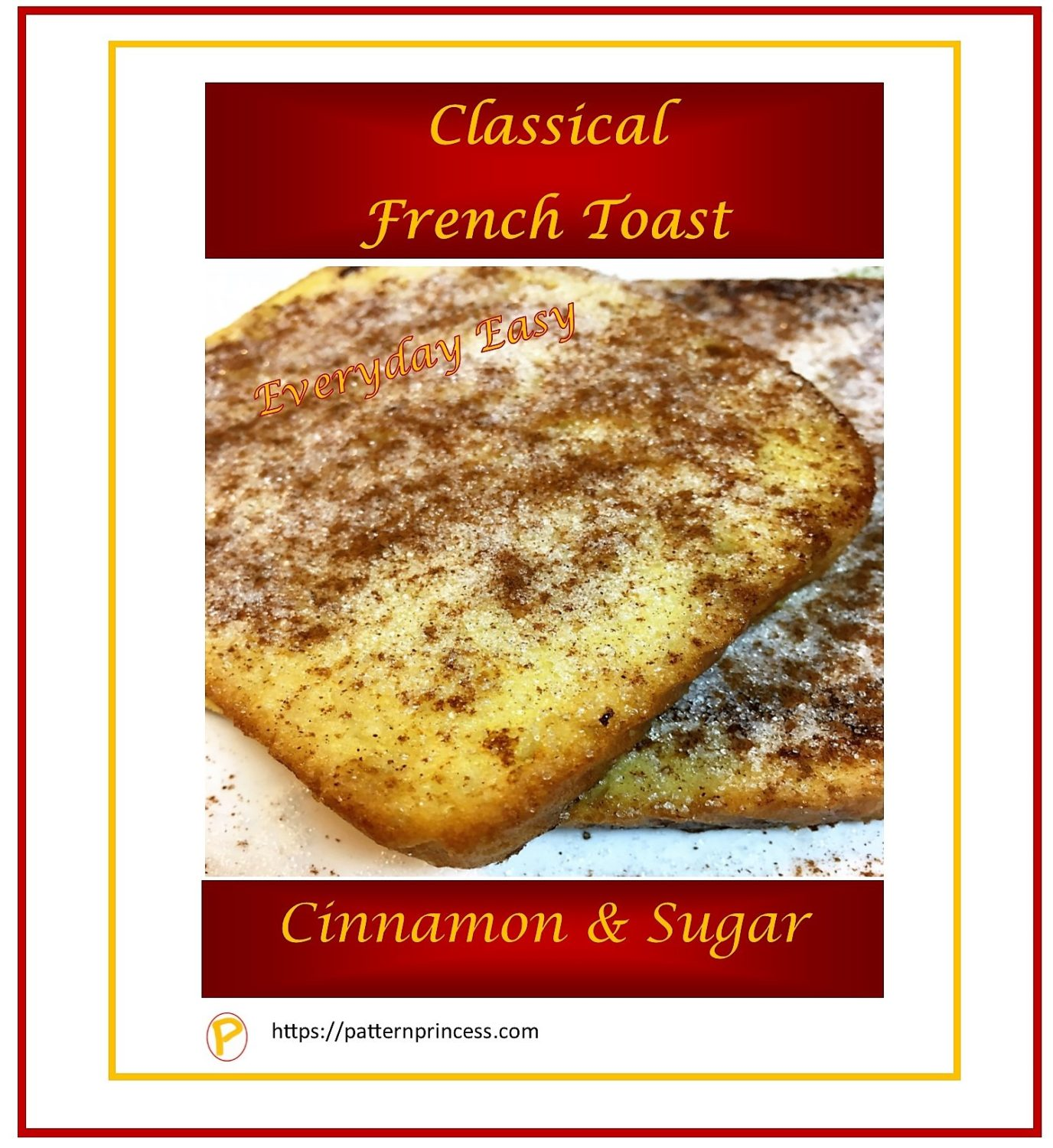 Classical French Toast 1