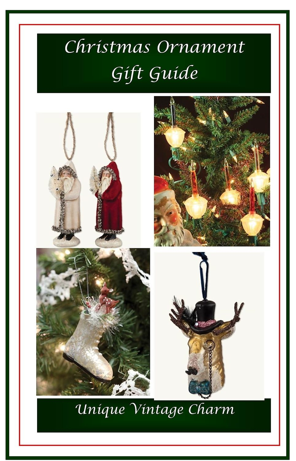 Christmas Ornament Gift Guide 1