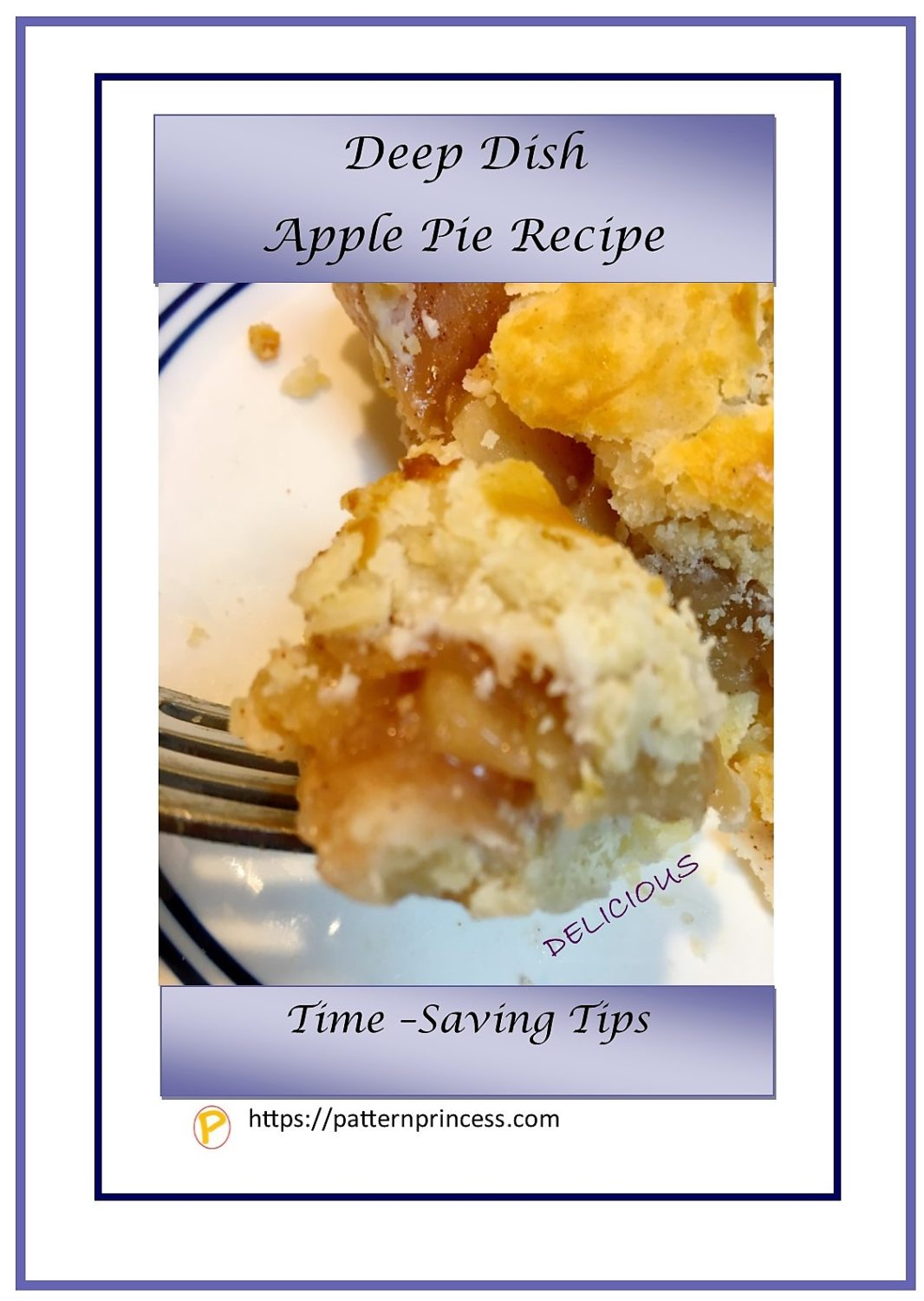 Deep Dish Apple Pie Recipe 1