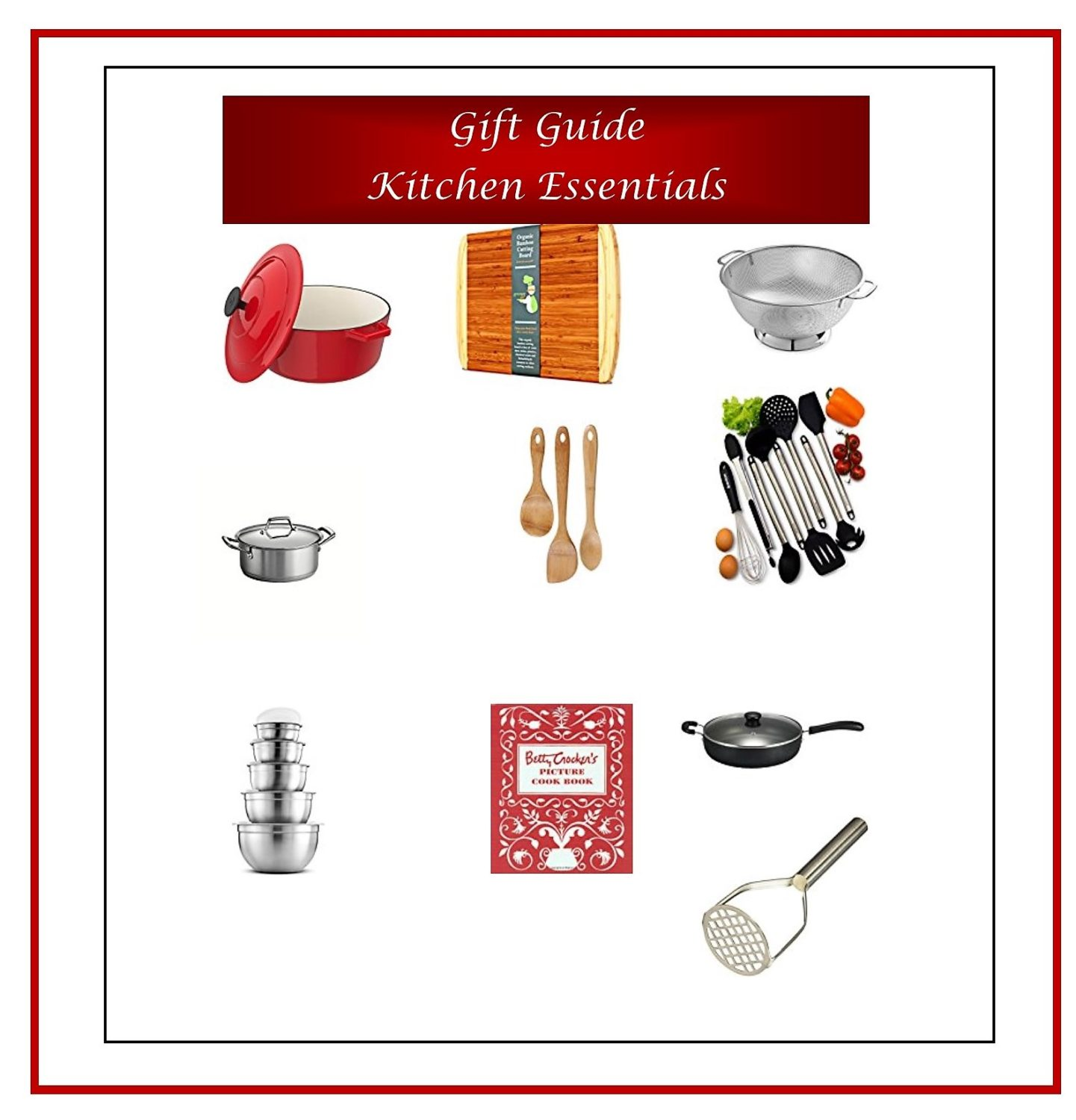 Gift Guide Kitchen Essentials 1