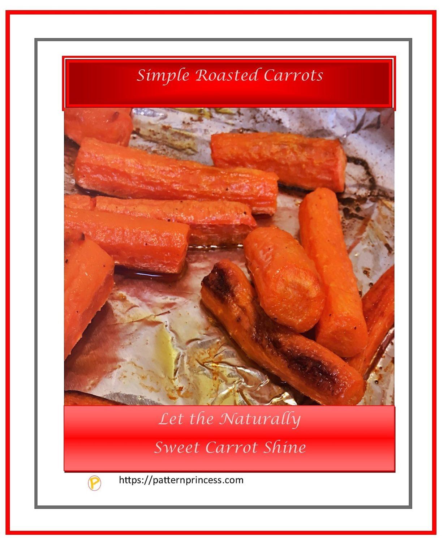 Simple Roasted Carrots 1