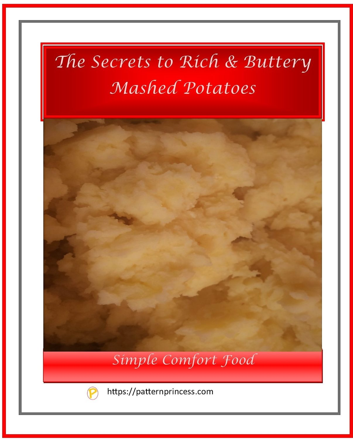 The Secrets to rich buttery mashed potatoes 1