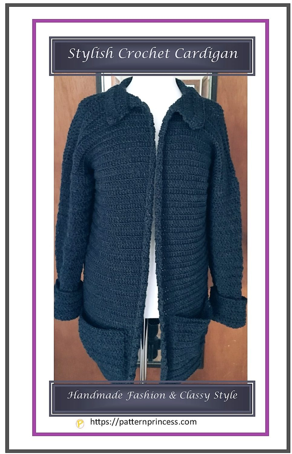 Stylish Crochet Cardigan 1