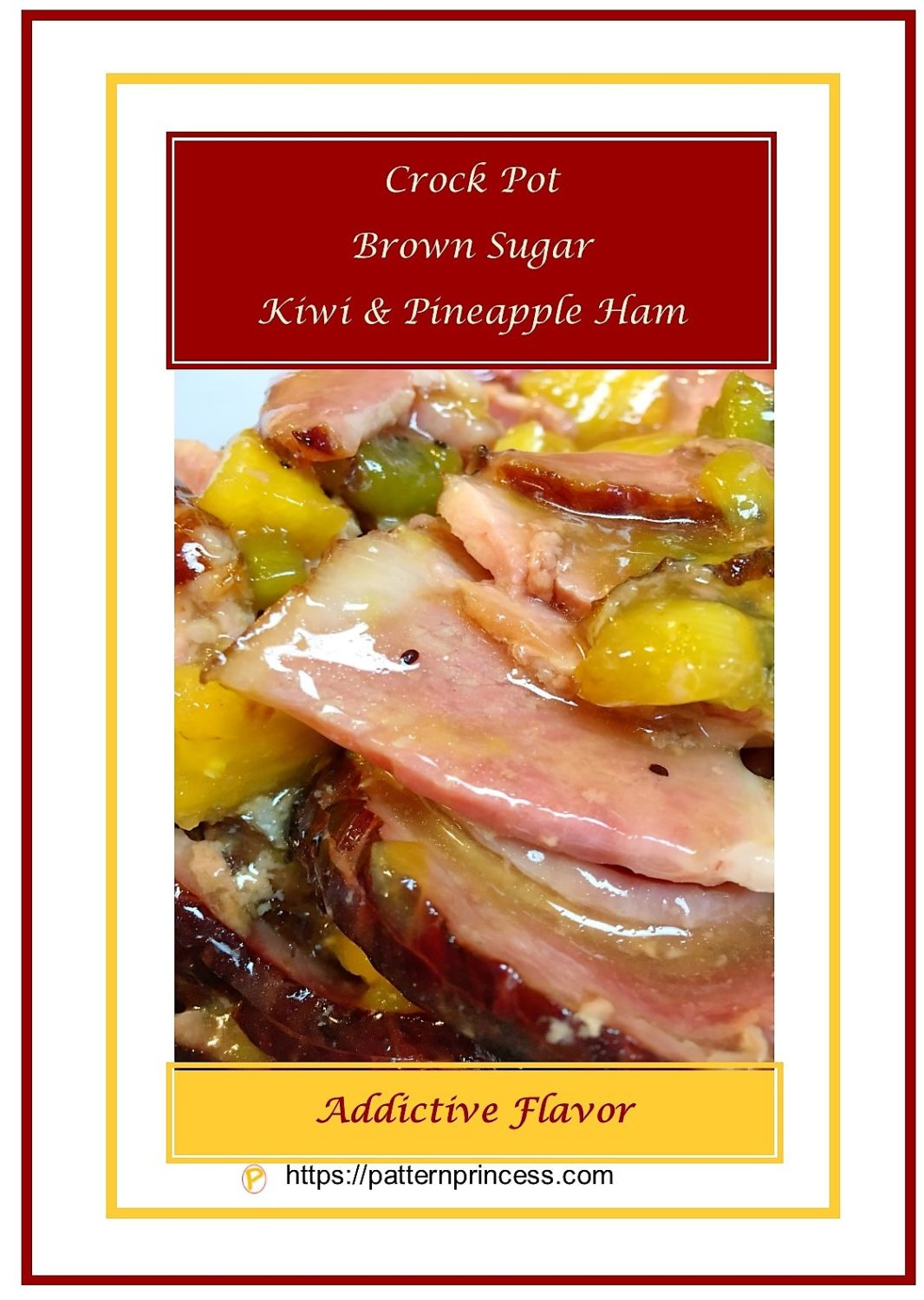 Crock Pot Brown Sugar Kiwi & Pineapple Ham 1