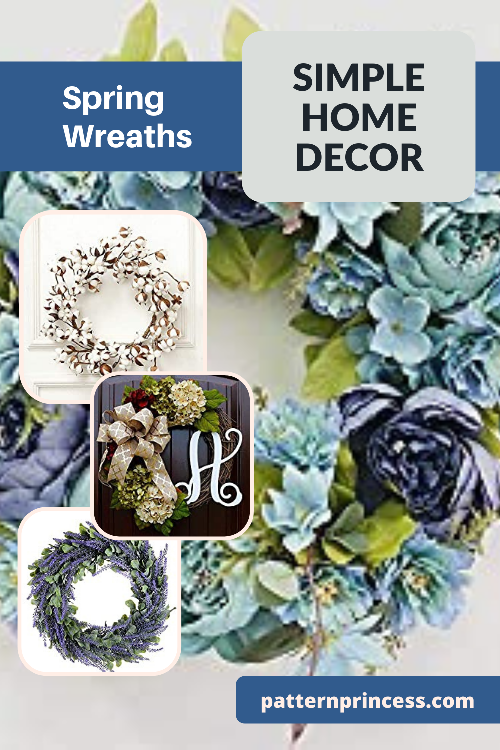 19 Gorgeous Spring Wreaths for Your Home Decor