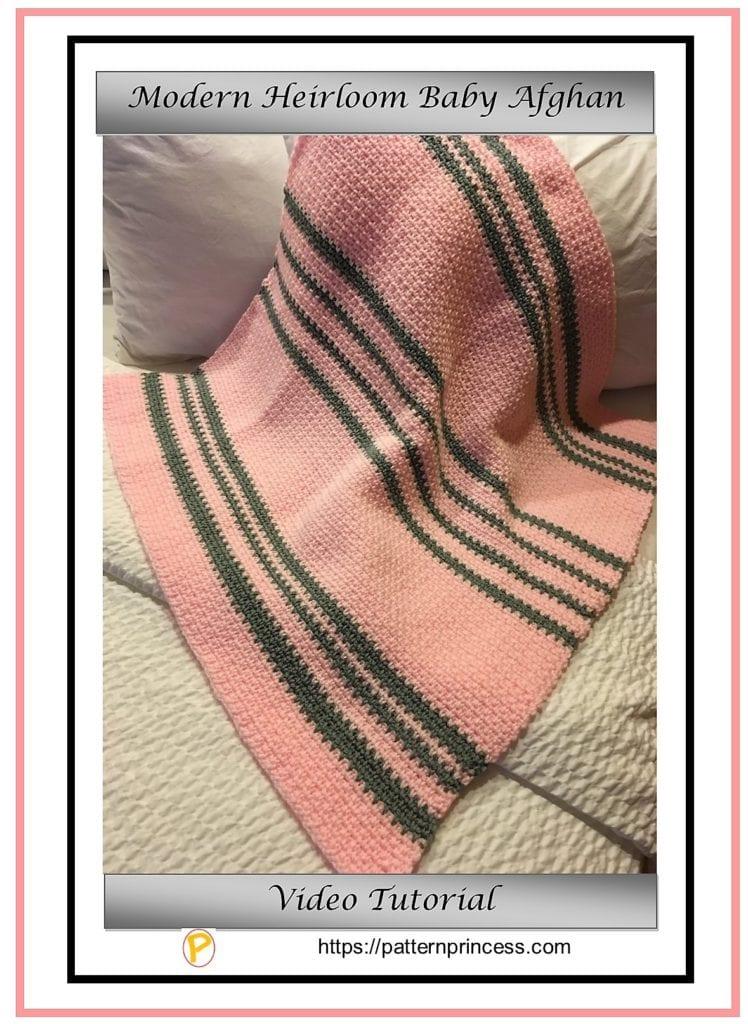 Modern Heirloom Baby Blanket 1