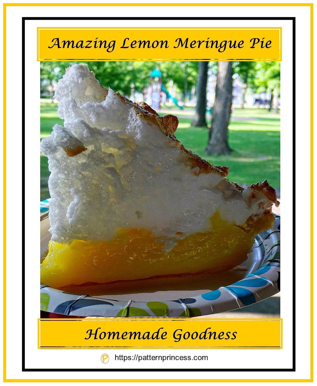 Amazing Lemon Meringue Pie 1