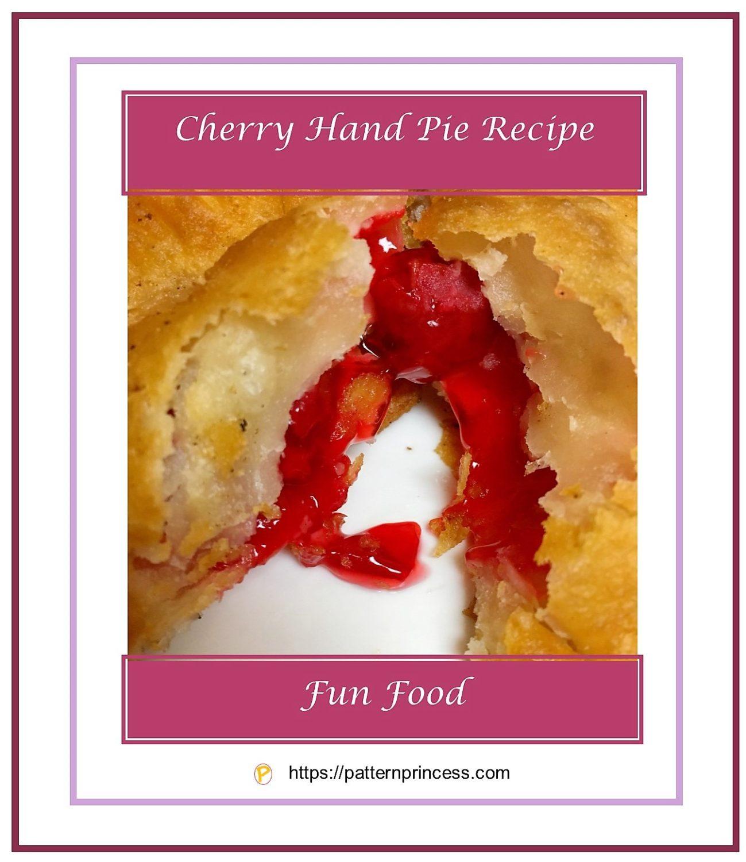 Cherry Hand Pie Recipe 1
