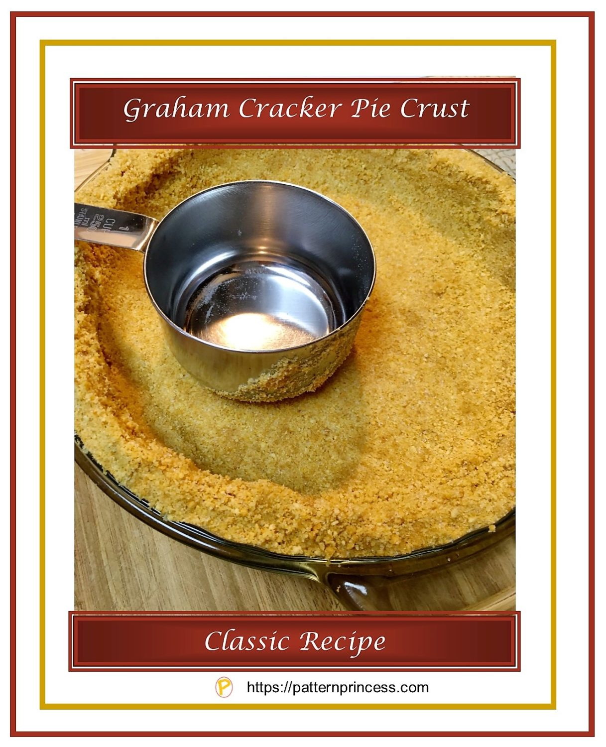 Graham Cracker Pie Crust 1
