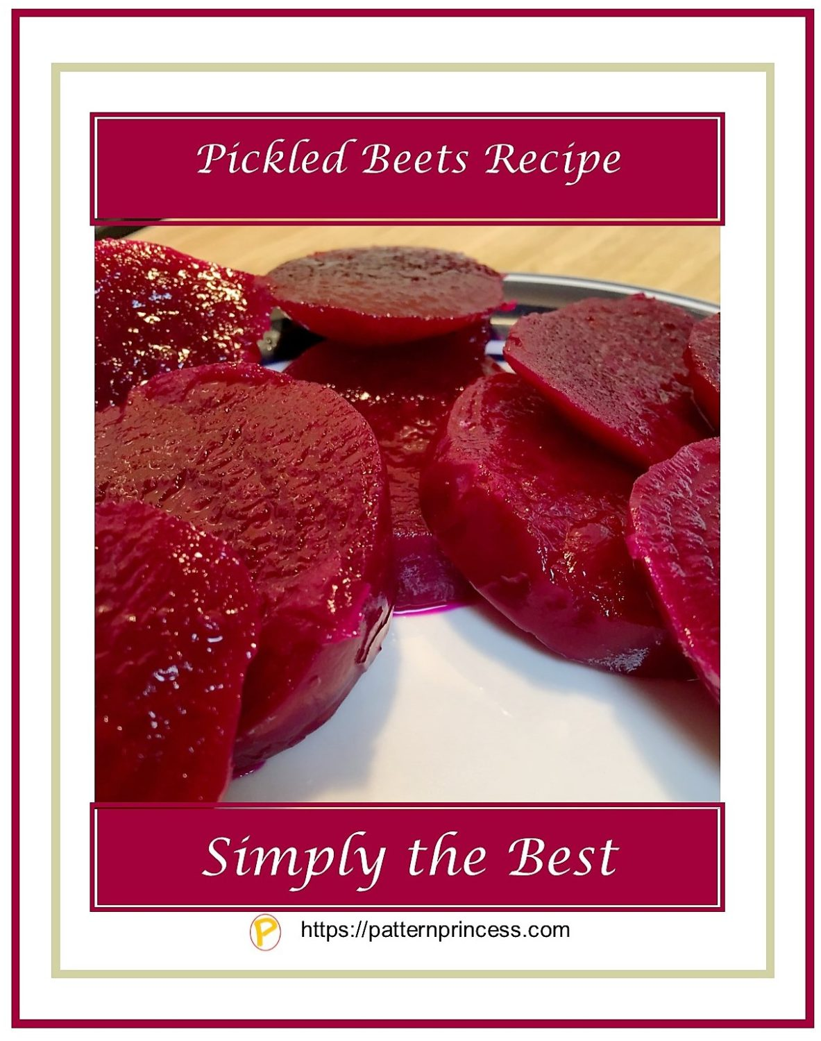 Pickled Beets Recipe 1