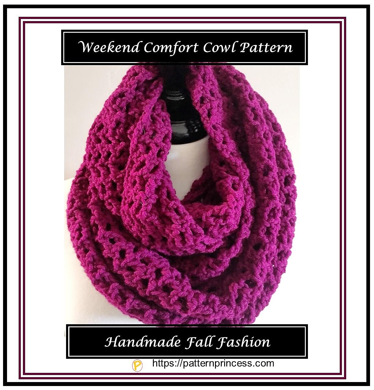 Weekend Comfort Cowl Pattern 1