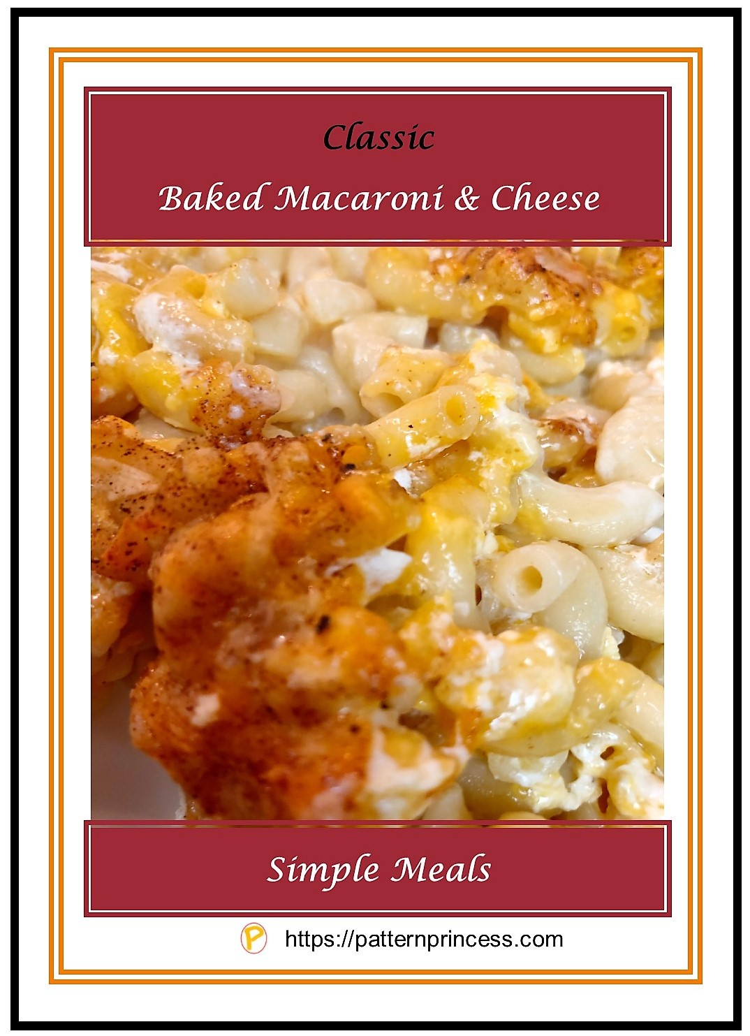 Classic Baked Macaroni and Cheese 1