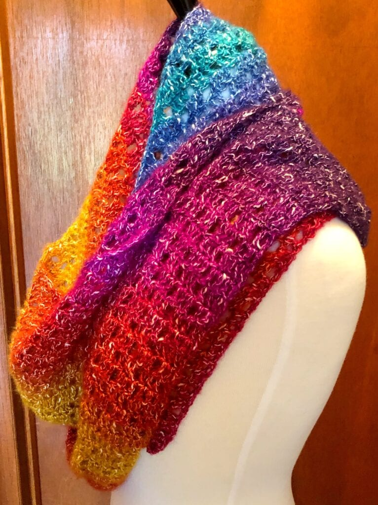 Side View of Shawl