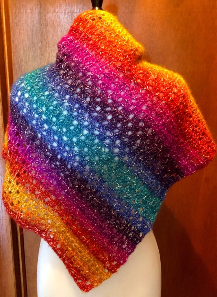 Increase Crochet Stitches on One Side