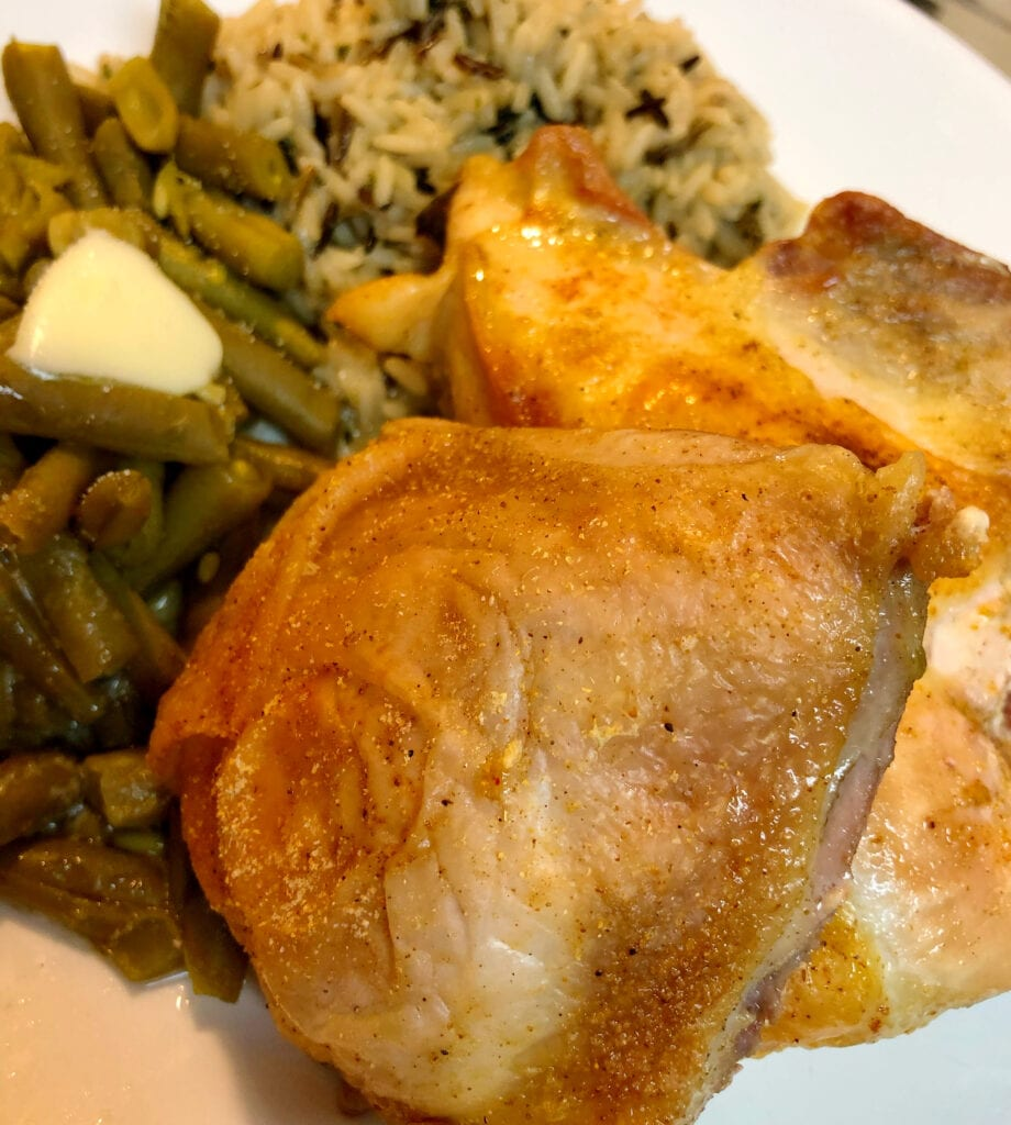Easy Baked Chicken Meal