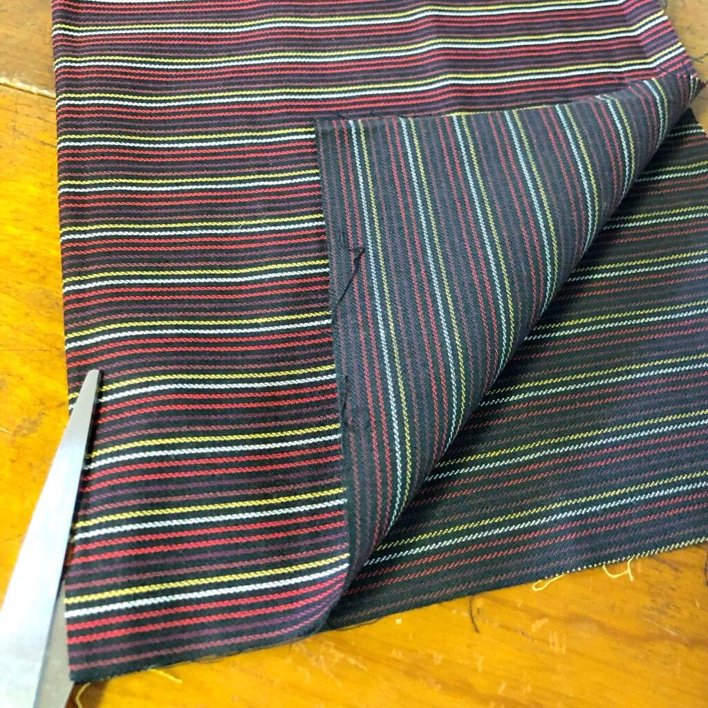Cutting Fat Quarter Fabric In Half