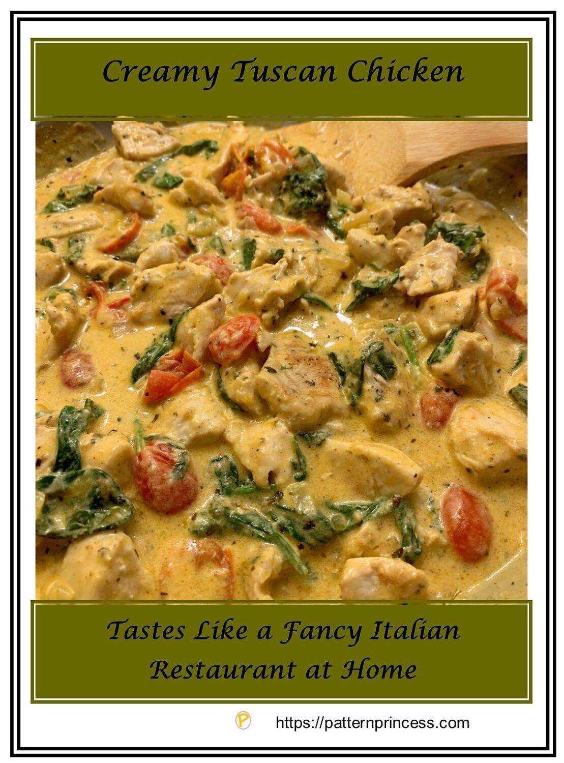 Creamy Tuscan Chicken Recipe