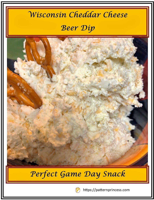 Wisconsin Cheddar Cheese Beer Dip