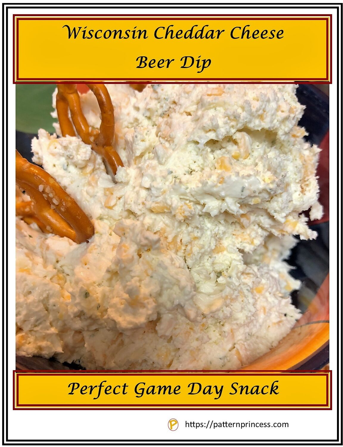 Wisconsin Cheddar Cheese Beer Dip
