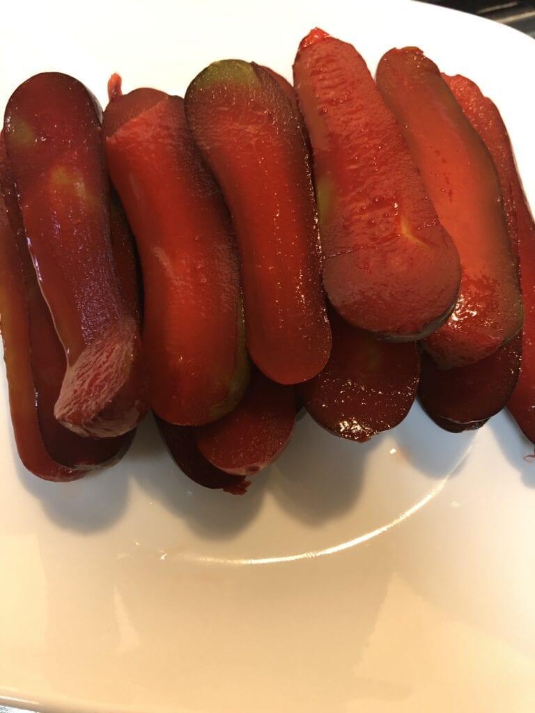 Black Cherry Pickles