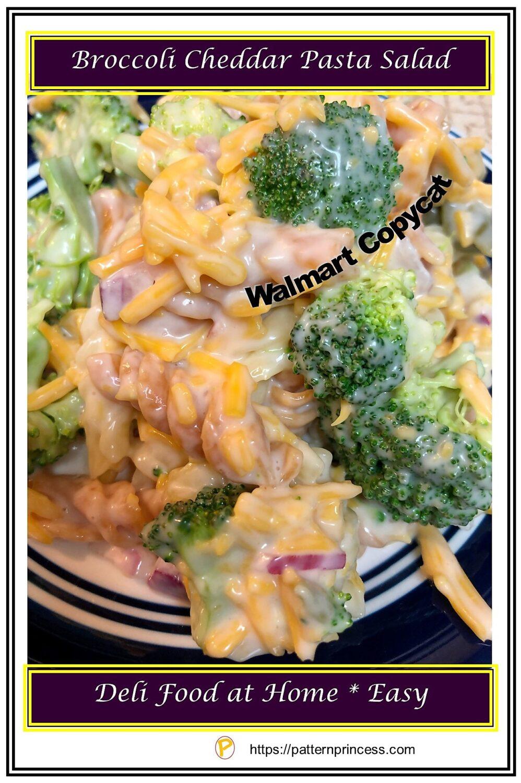Broccoli Cheddar Pasta Salad